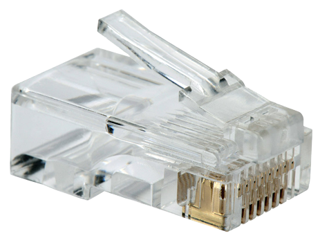 [6785] Accesoria de Red IMEXX IME-10145E RJ45 CAT5E Gold Contact.