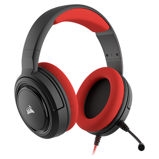 [6991] Headset Gaming Corsair HS35 estereo 3.5mm Rojo