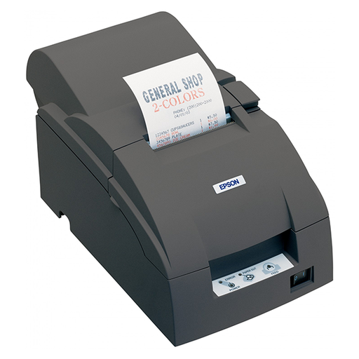 [4934] Impresora Epson TM-U220A-153   TICKETSM BLACK, SERIAL RS-232
