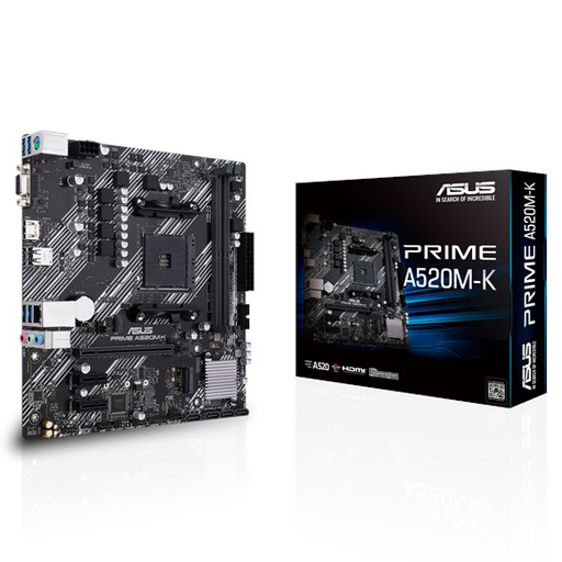 [08350] Motherboard ASUS A520M-K AMD DDR4 AM4